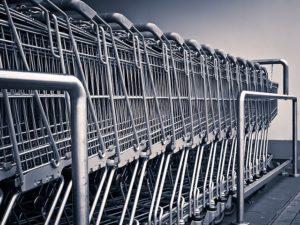 einkaufswagen bzw. einkaufstrolley